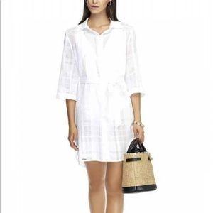 La Paz White Shirt Dress